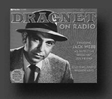*DRAGNET* Old Time Radio Shows - 286 MP3s on DVD +FREE OFFER OTR