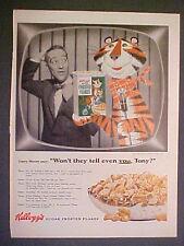 "1955 Garry Moore TV Tony The Tiger""Kellogg's Cereal~Texaco Dalmations Dogs AD"