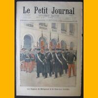 LE PETIT JOURNAL Supplément illustré 17 novembre 1901