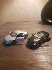 """5"""" Kinsmart 2008 Audi TT Coupe Gray/ Mercedes Benz SLK1:32"""