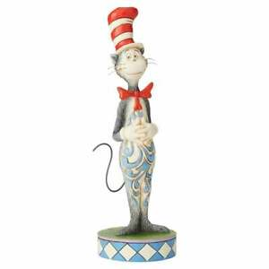 Jim Shore Heartwood Creek Cat In The Hat Ornament New Boxed 6002906