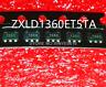 Hot Sell  5PCS  NEW  1360 136O ZXLD1360ET5TA  ZXLD1360  SOT23-5  LED driver chip
