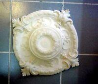 rosace neuve en staff(platre armé)louis XIV 53x42cm