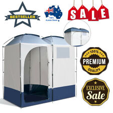 WEISSHORN Portable Pop Up Camping Shower Tent Outdoor Toilet Change Room Party