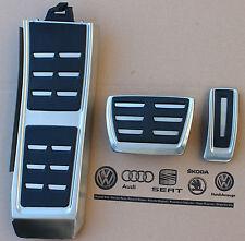 Audi a4 b8 original s-line pedalset 8k1064205b q5 sq5 tapas pedal s4 a5 s5 rs5