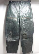 125 Vintage 60th Stiefelhose Kradmelder Motorradhose Breeches braungrün Gr. 48