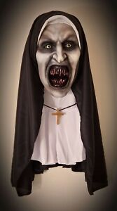 Life Size Valak The Nun  Bust Professionally Airbrushed Award winning LOOK
