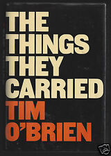 The Things They Carried by Tim O'Brien Signed First Edition 1st Printing