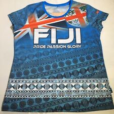 Ladies Fiji Sublimated Tee Pride Passion Glory  Eye Catching Design L