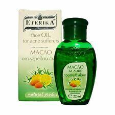 ETERIKA Anti-acne oil with almond,jojoba,tea tree,lemon and juniper oils 22 ml