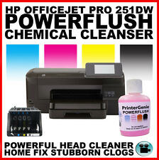 Printhead unblocker si adatta: HP OFFICEJET PRO 251DW STAMPANTE HEAD CLEANER: stampa FIX