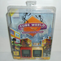 BRAND NEW 2-PACK LOT Radica Cube World Dodger & Whip Interactive Games! Sealed