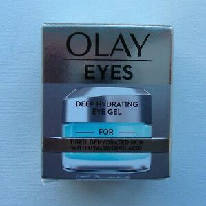 BN Olay Eye Gel, Hydrating / Moisturising For Tired Skin 15ml / Hyaluronic Acid