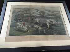 1840 Victorian Charles Hunt  The Northampton grand national steeple chase