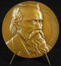 Médaille Johannes Brahms compositeur music composer chef d'orchestre 1967 medal