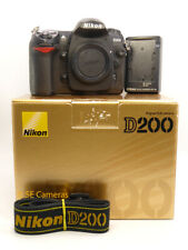 NIKON D200 DSLR CAMERA BODY ONLY FULLY TESTED WORKING low shutter count 13499