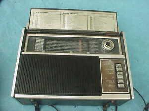 SEARS MULTI BAND SHORTWAVE RADIO, NO. 266.24310600, VINTAGE, FROM STORAGE