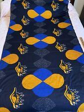 Tanzania Cotton Fabric Sewing African Batik 2 Yds Wow Colors Design