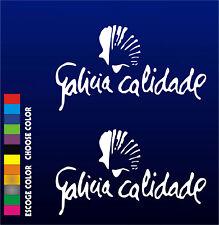 PEGATINAS - Galicia Calidade - STICKER - WALL DECAL - AUFKLEBER - Vinilo - Vinyl