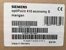 Siemens Hicom Hipath Optipoint 410 Economy S manganèse TOP FACTURE TVA Nouveau neuf dans sa boîte