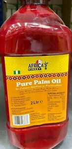 Africa's Finest Palm Oil 2L bottle No colours, additives or preservatives