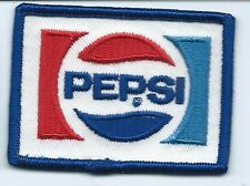 Pepsi driver/employee advertising patch 2-1/8 X 2-7/8 #584