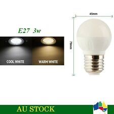 5 x AC 230V E27 LED 3W Globe Bulb TJ-G45 Light Lamp