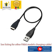 USB Charging Charger Cable For Fitbit Charge HR 30cm