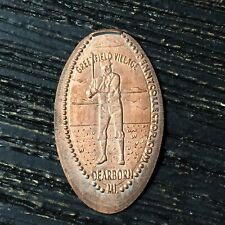 Baseball Player Greenfield Village Smashed pressed elongated penny P2244