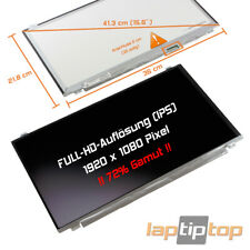 "Clevo N950TP6 LED Display 15,6"" matt Full HD 1920x1080 Gamut 72% IPS"