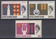 Solomon Islands 1966 ** mi.158/60 Unesco [sq6110]