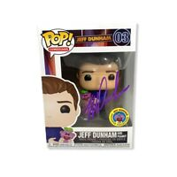 *PURPLE AUTOGRAPH* Funko POP! Comedians Jeff Dunham and Peanut #03  Exclusive
