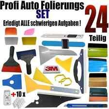 24 Teilige Profie Set Auto Folierung - Scheibentönung - Rakel  Set