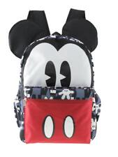 "Mickey Mouse 16"" 3-D Style School Backpack For Men Or Boys"