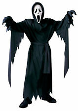 Fun World Scream Ghost Face Robe Halloween Costume Cosplay Plus Size up to 300lb
