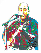 Aaron Lewis Staind Singer Guitar Pop Rock Music Print Poster Wall Art 8.5x11