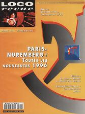 LOCO REVUE 590 DE 1996. UNE BB 9300 EN N SUR BASE ARNOLD