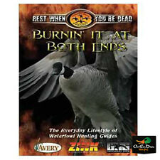 ZINK CALLS COLUMBIA BASIN BURNIN IT AT BOTH ENDS DUCK GOOSE HUNTING VIDEO DVD