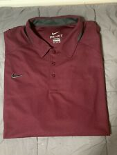 Mens Nike Dri Fit Polo Xxl Golf Short Sleeved Shirt