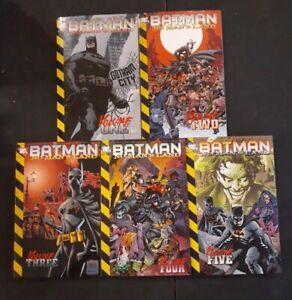 Batman No Mans Land Volume 1-5 VERY GOOD  3rd To 5th Printing FULL RUN
