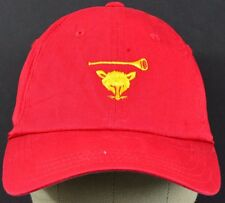 Red Rat with horn trumpet embroidered baseball hat cap adjustable