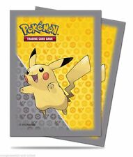 ULTRA PRO POKEMON DECK PROTECTOR: 'PIKACHU GREY' - 65 count