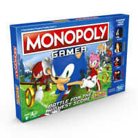Monopoly Gamer Sonic the Hedgehog Edition Board Game