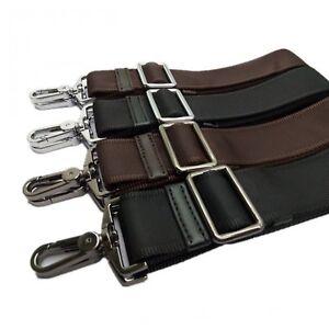 Adjustable Shoulder Strap Replacement 38mm Nylon Belt With Hook Laptop Bag Strap