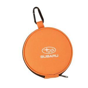 Subaru Folding Zipper Travel Hiking Camping Dog Cat Pet Food Water Bowls pair