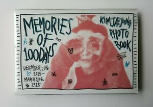 JYJ KIM JAE JOONG Photo Book [MEMORIES OF 100 DAYS] DVD+P.Book+photocards+more..