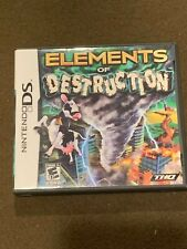 Nintendo DS Video Game Elements of Destruction Rated E