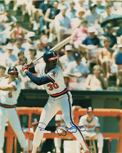 Devon White signed autographed 8x10 photo! Angels! Guaranteed Authentic! 981