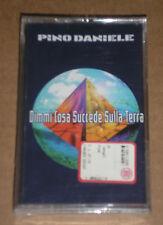 PINO DANIELE -DIMMI COSA SUCCEDE SULLA TERRA- MUSICASSETTA MC SIGILLATA (SEALED)