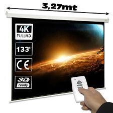 "Pantalla de proyeccion electrica Luxscreen 133"" Pulgadas (294x165cm) con Mando"